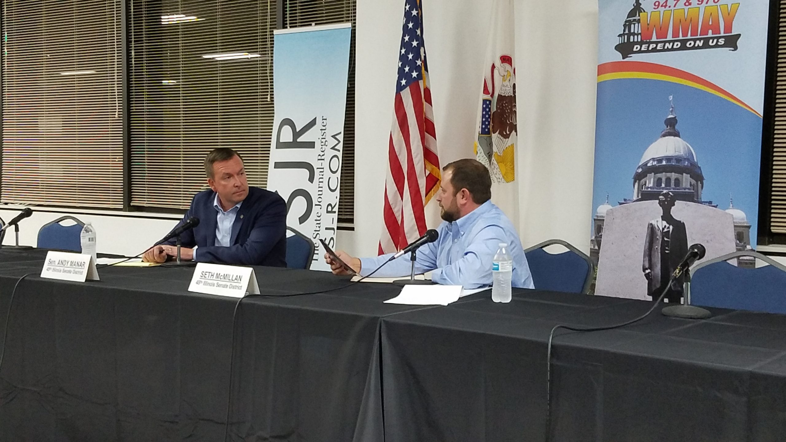 State Senate Candidates Clash In Live Forum On WMAY