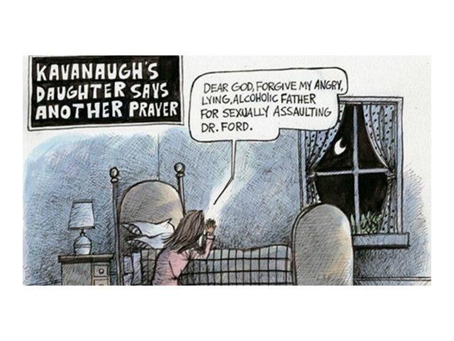 Cartoonist Says He's Getting Death Threats Over Kavanaugh Cartoon