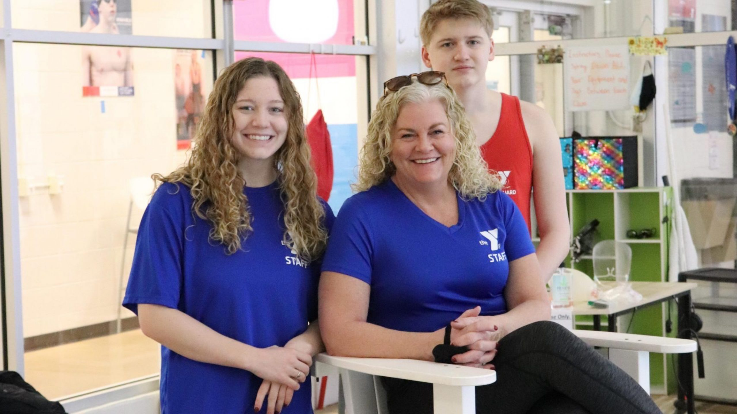 Family Of Lifeguards Steps Up To Help Westside Y 98 7 Wnns Springfield S Best Variety