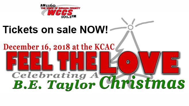 """FEEL THE LOVE: CELEBRATING A B.E. TAYLOR CHRISTMAS"" CONCERT TONIGHT"