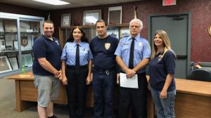 CLYMER BORO SWEARS IN NEW FIRE POLICE
