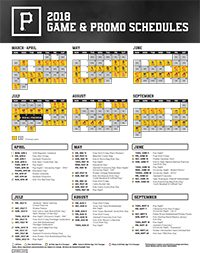 image regarding Pirates Printable Schedule named pittsburgh pirates winter season hat agenda