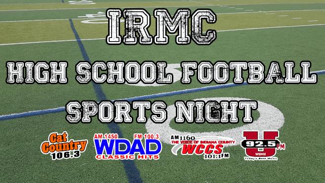 IRMC HIGH SCHOOL FOOTBALL SPORTS NIGHT