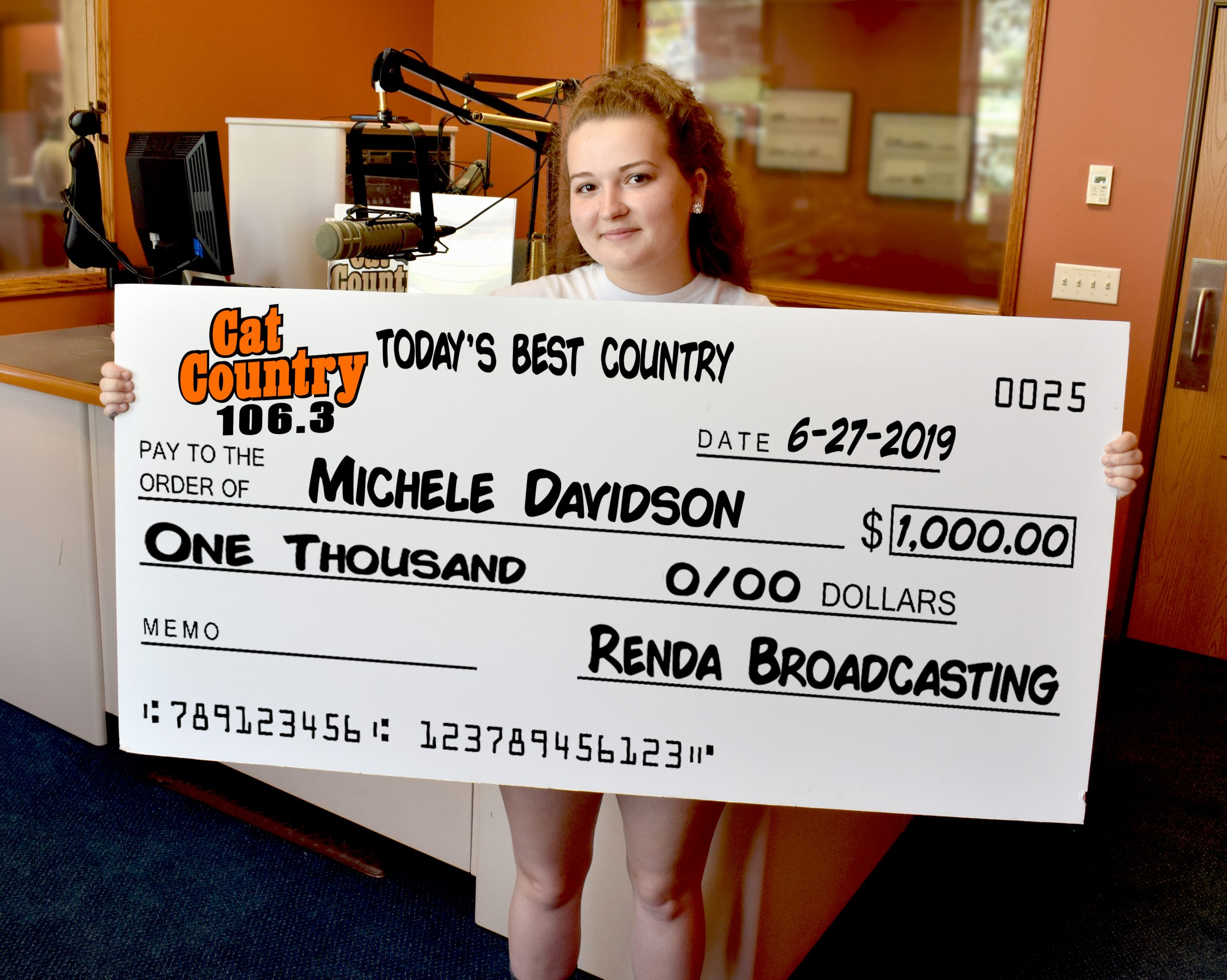 Thousand Dollar Thursday | WCCS AM1160 & 101 1FM