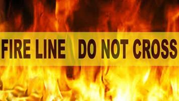 MAHAFFEY HOME DAMAGED IN FIRE
