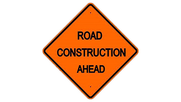 CONSTRUCTION TO BLAME FOR DELAYS TO INCOMING LATROBE TRAFFIC