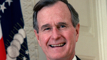GEORGE H.W. BUSH HAD SPECIAL CONNECTION WITH HEMPFIELD MAN