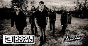 Register to win a chance to meet 3 Doors Down!