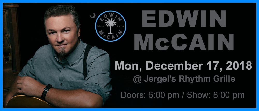 Feature: http://www.druskyentertainment.com/event/1781076-edwin-mccain-warrendale/