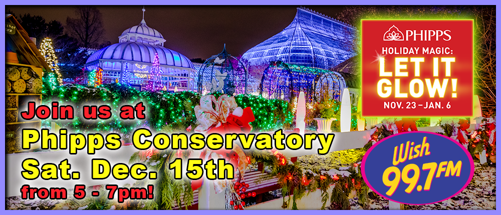 Feature: https://www.phipps.conservatory.org/calendar/detail/holiday-magic