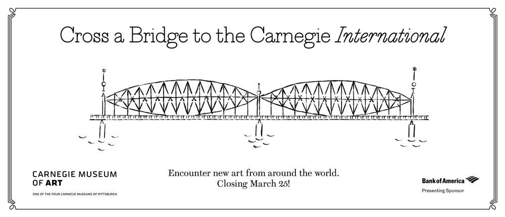 Feature: https://cmoa.org/exhibition/carnegie-international-2018/