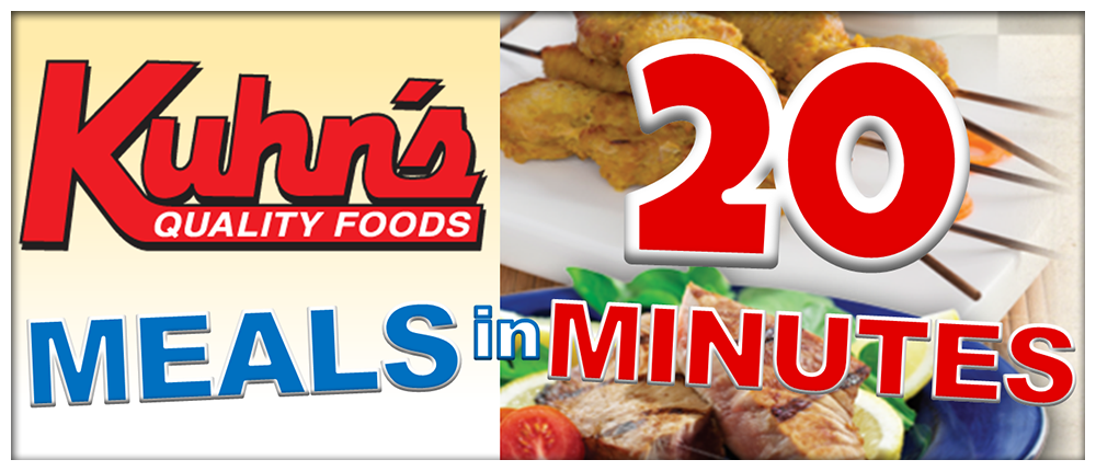 Kuhn's Meals in 20 - January