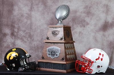 Huskers and Hawkeyes Meet for Heroes Trophy
