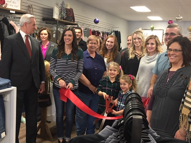 Lt. Governor Foley Helps Welcome New Business To Broken Bow (audio)