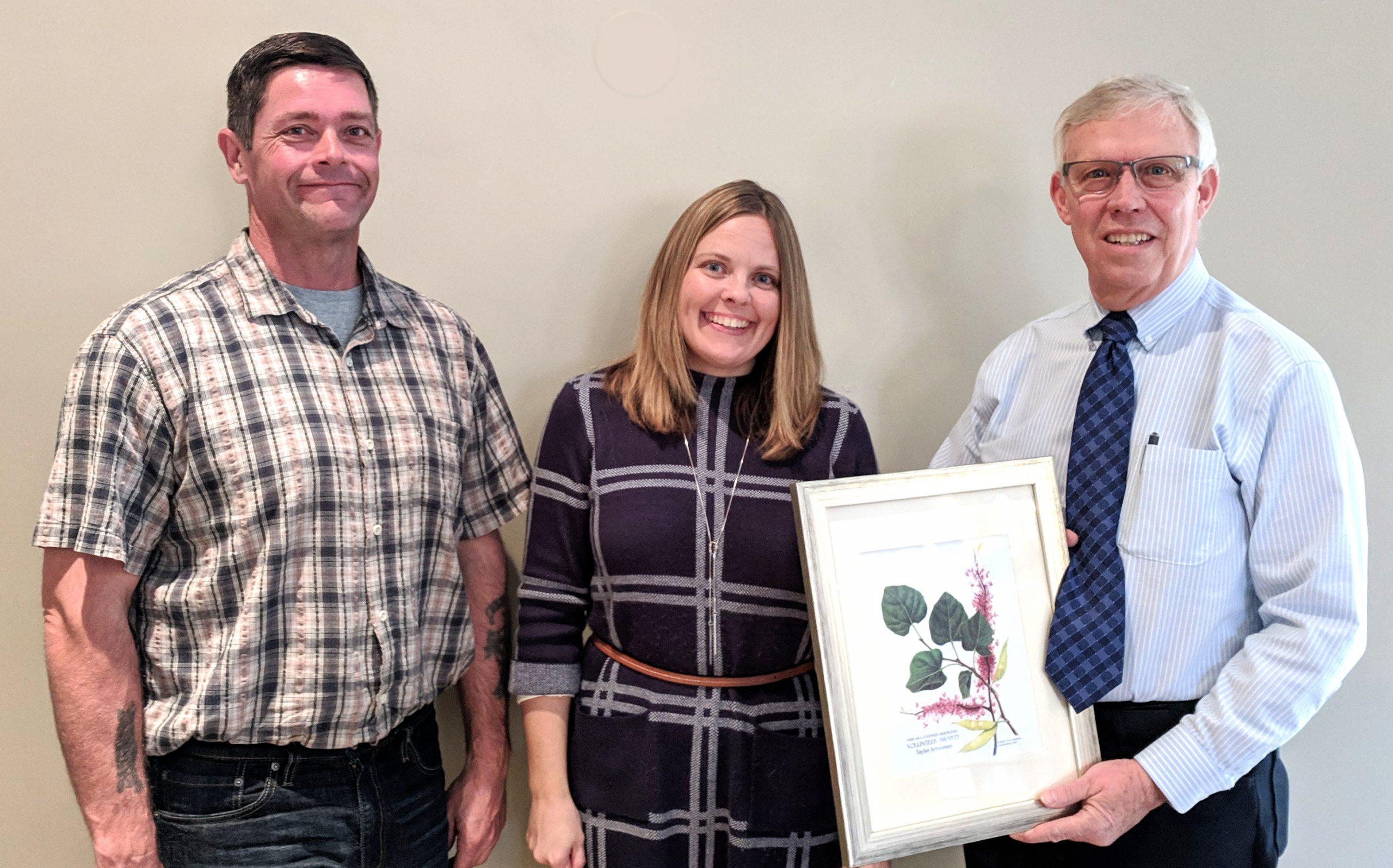 Taylor Volunteers Recognized