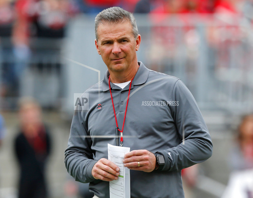 Ohio State says coach Urban Meyer will retire after Rose Bowl
