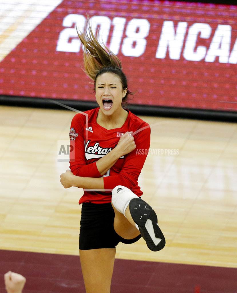 Huskers rally, beat Illini in NCAA volleyball semis