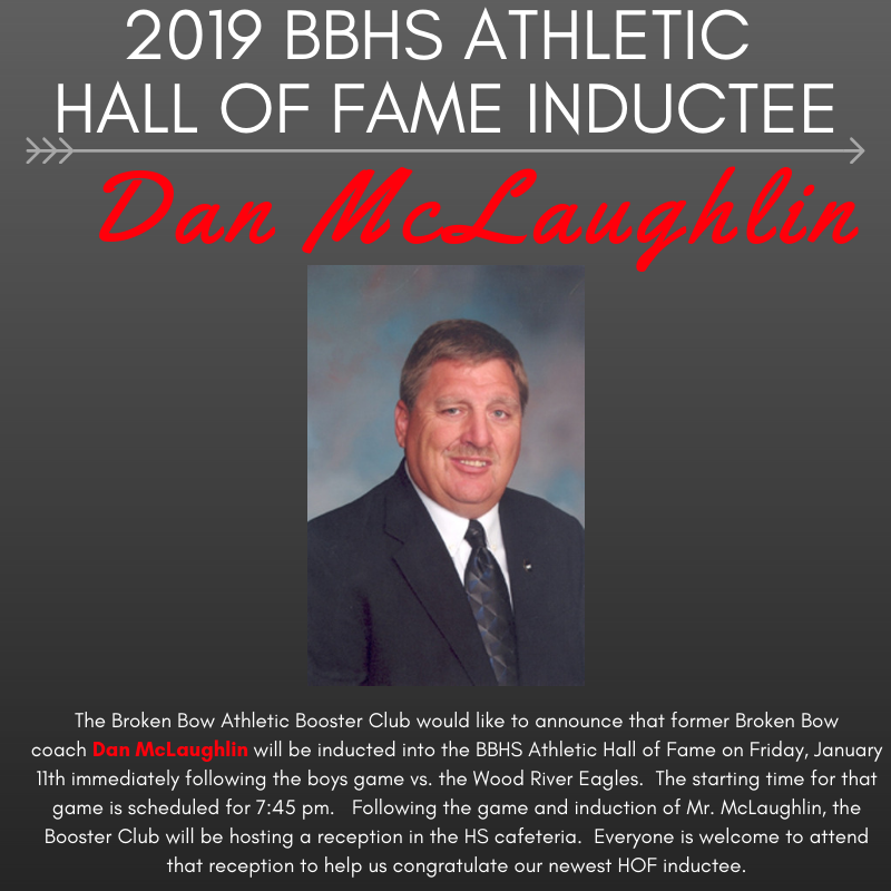 2019 BBHS Athletic Hall Of Fame Inductee Dan McLaughlin