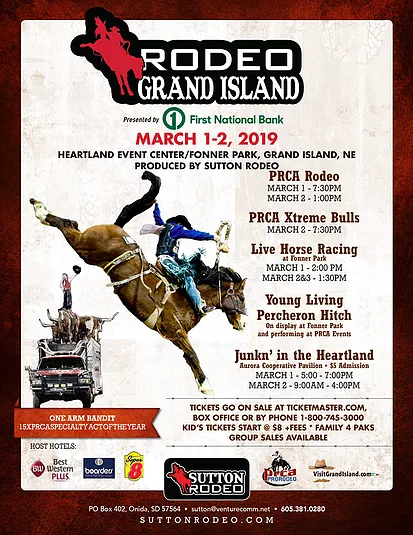 Rodeo Grand Island | Kbear Country