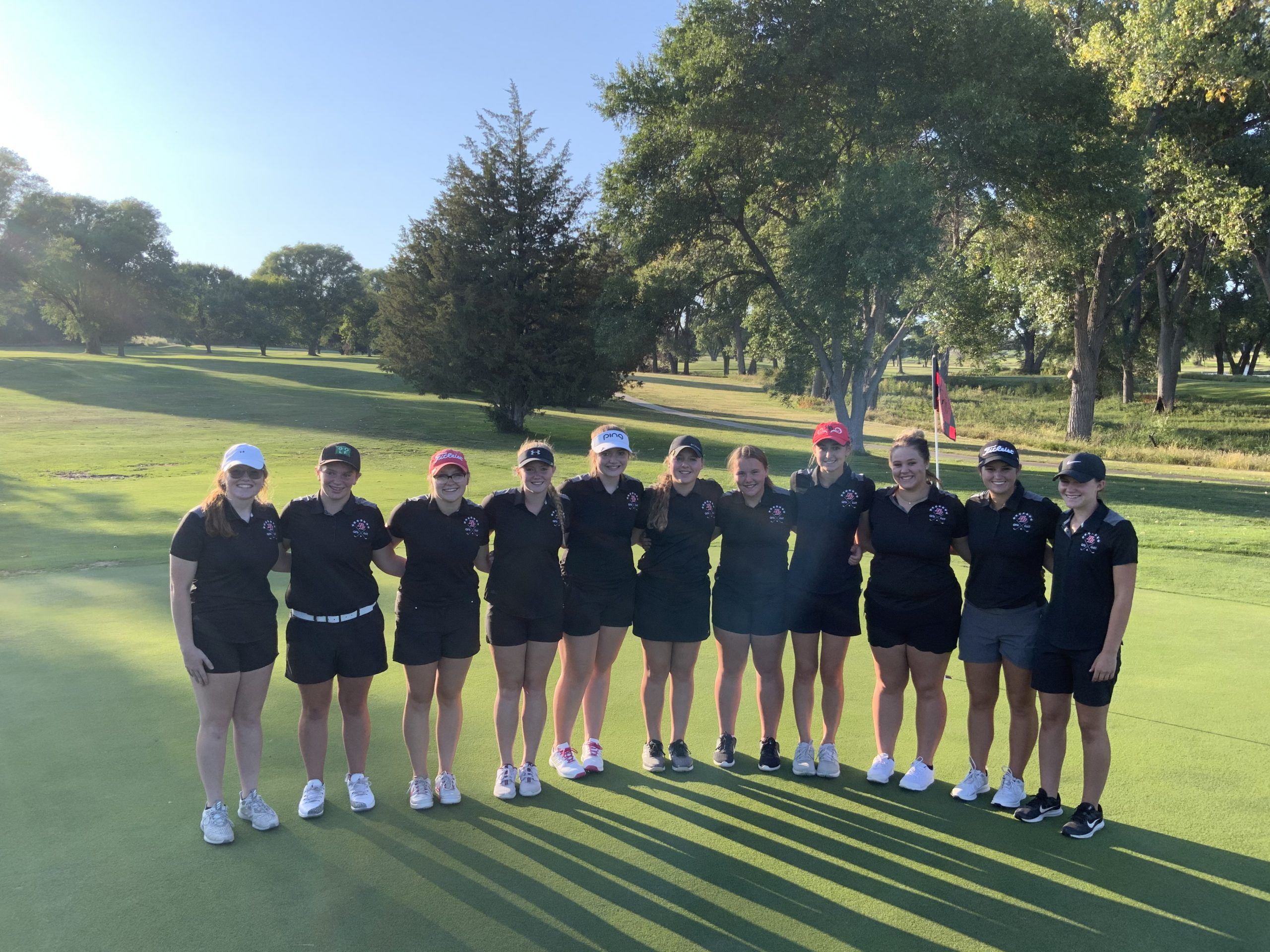 Broken Bow golfers win Cambridge Quad