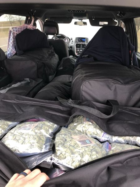 $1 Million Worth of Weed Discovered in York County Traffic Stop.