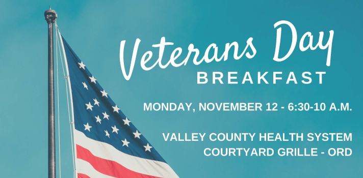 VCHS to host free breakfast for veterans and their families on Nov. 12