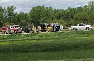 UPDATE) Two Vehicle Accident Outside of Ord on Hwy 11 Causes