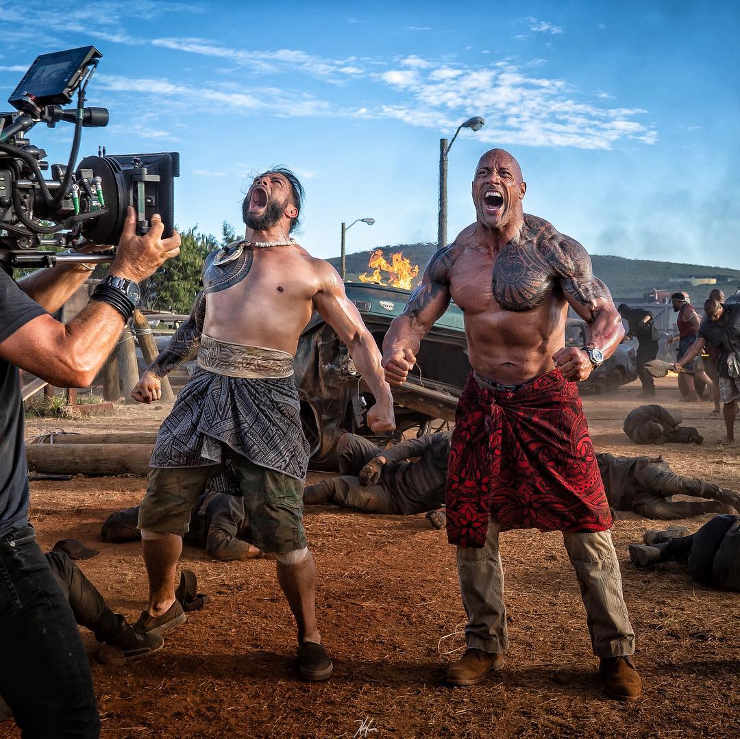 """WWE Superstar Roman Reigns Joins The Rock In """"Hobbs And Shaw"""