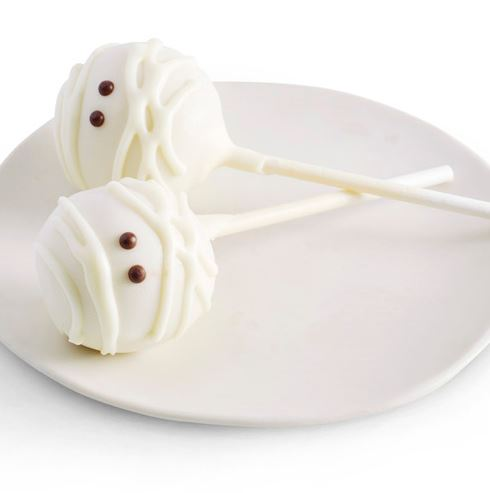 If The Frap Isnt Your Thing We Totally Suggest Mummy Cake Pop It May Look Frightening But This Is Actually A Vanilla Birthday