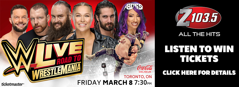 Feature: http://z1035.com/2019/01/11/win-a-pair-of-tickets-to-wwe-live-road-to-wrestlemania/