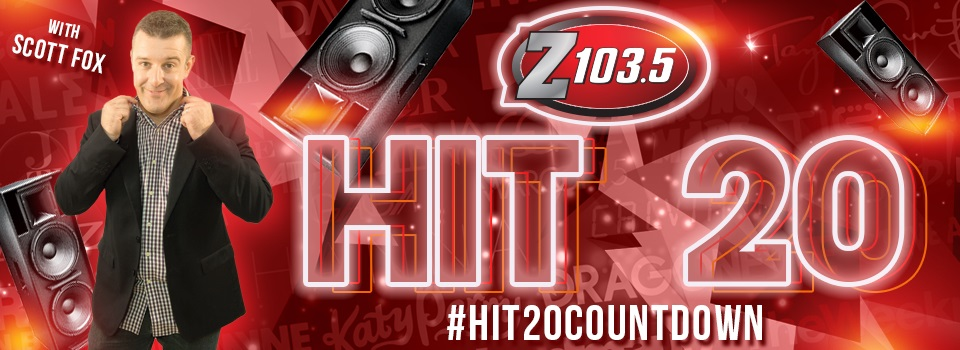 Hit 20 Countdown | Z103 5 ALL THE HITS