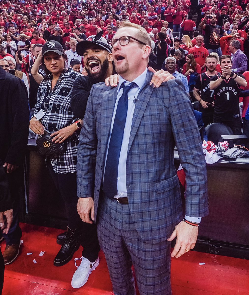 Raptors Head Coach Nick Nurse Talks About Drake S Massages Z103 5 All The Hits