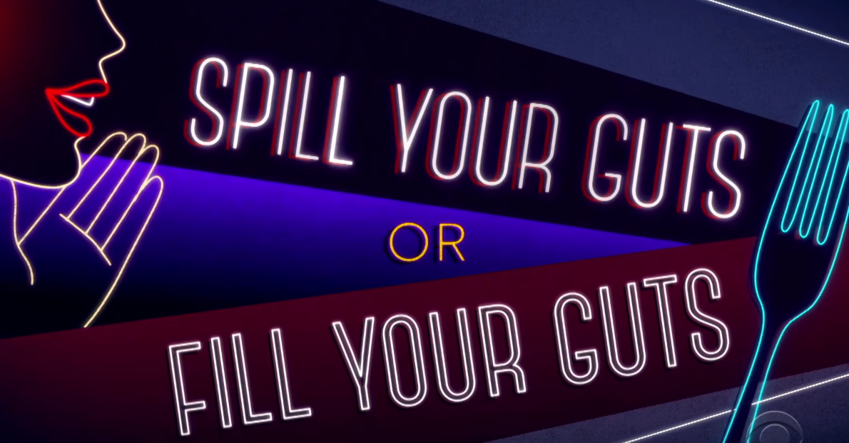 James Corden Spill Your Guts Or Fill Your Guts With Arnold Schwarzenegger Energy 106