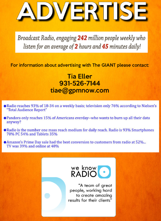 Advertise | 107 7 and 1400 The HUB