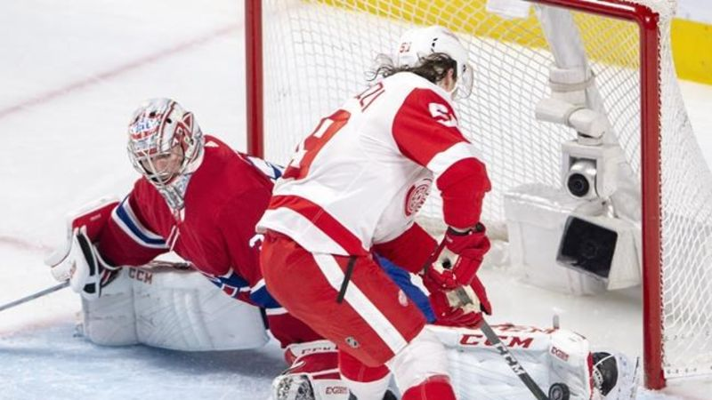 Carey Price makes Canadiens history as Red Wings fall 3-1