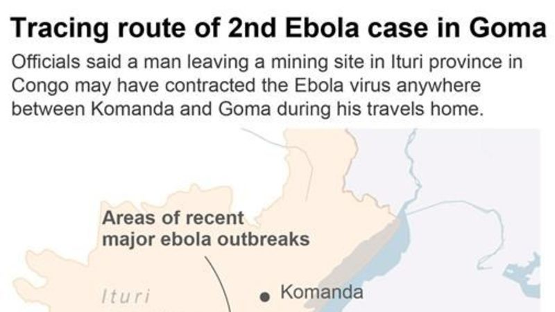 Fourth Ebola Case Detected In Goma After Husband And Daughter Infected