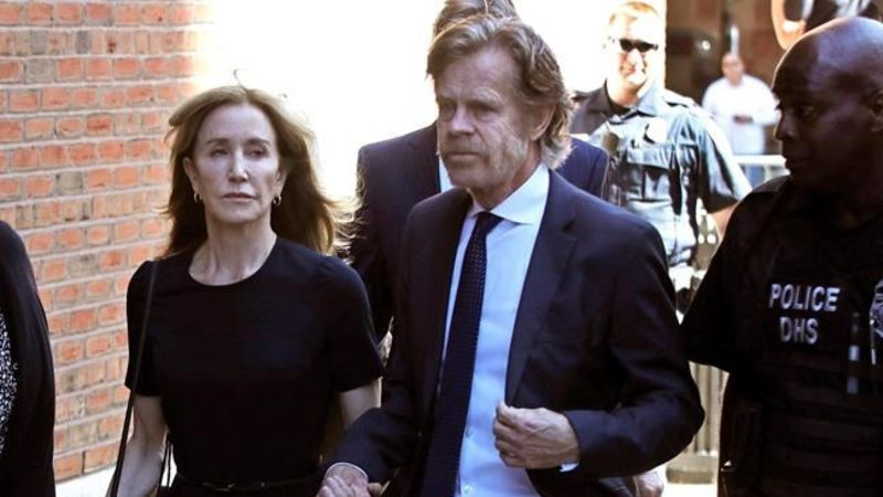 By Canadian Press  Huffman gets 14 days behind bars in college admissions scamSep 13 2019
