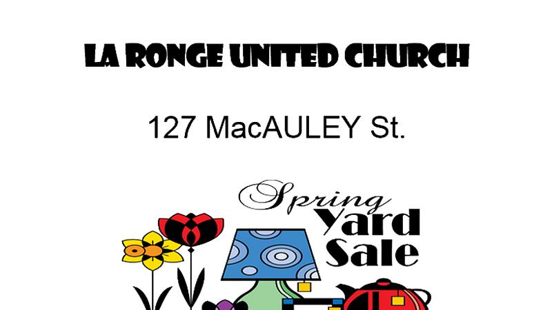 United Church Garage Sale | larongeNOW | La Ronge