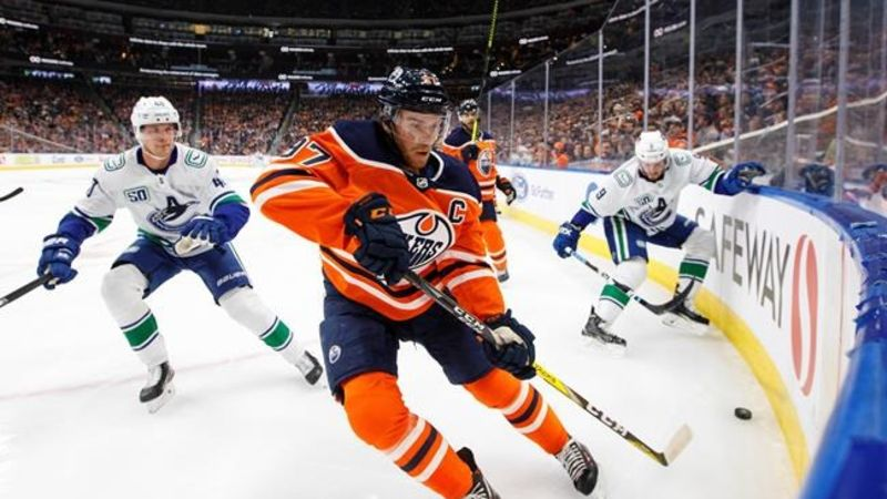 Edmonton Oilers vs. Vancouver Canucks Prediction, Preview, and Odds