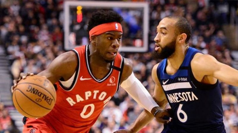 Raptors tame T-Wolves to extend winning streak to 15 games