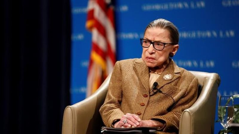 US Supreme Court Justice Ginsburg back in hospital