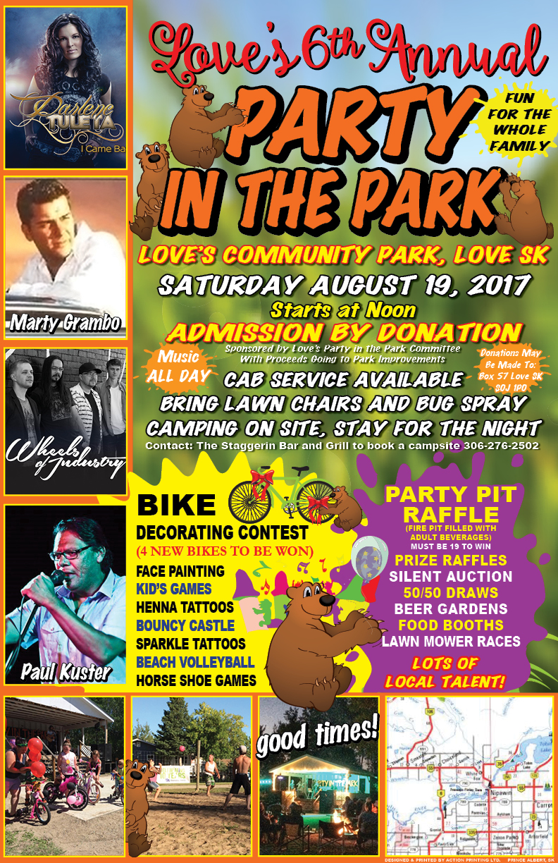 Love's Party in the Park | battlefordsNOW | North Battleford