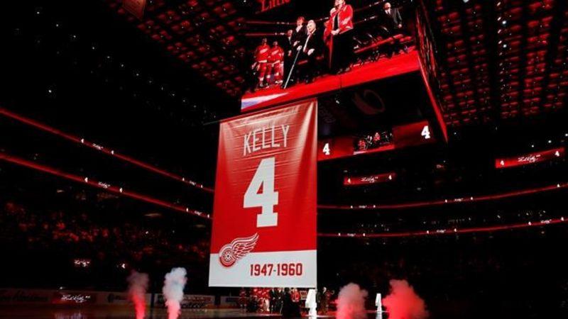 88388632bee Red Wings retire Kelly s jersey