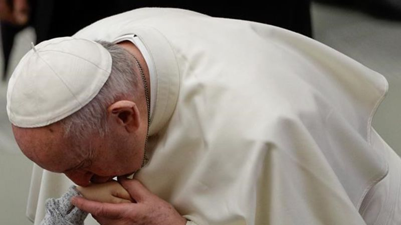 Vatican clarifies pope's comments on issue of 'sexual slavery' of nuns