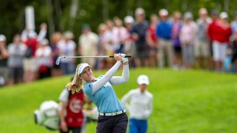 Ko, Broch Larsen tied for lead at CP Women's Open