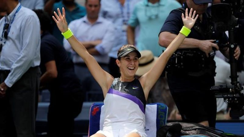 Belinda Bencic advances to U.S. Open semifinals