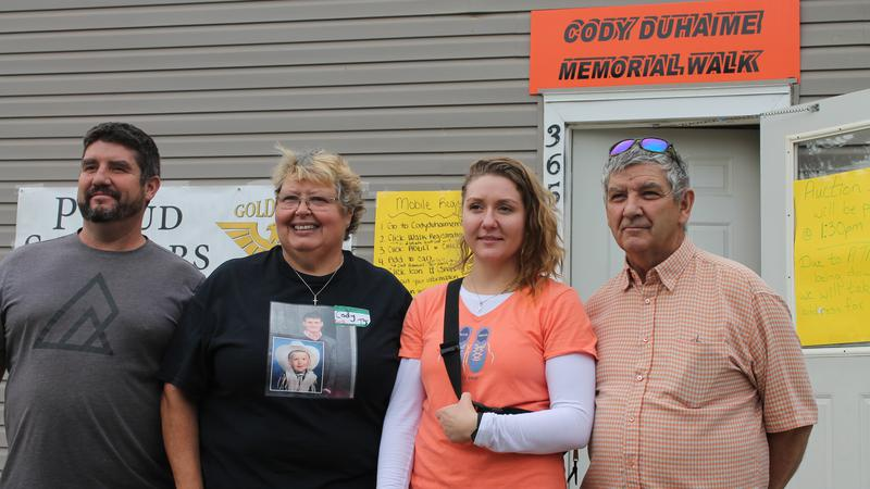 Cody Duhaime Memorial Walk for suicide prevention raises
