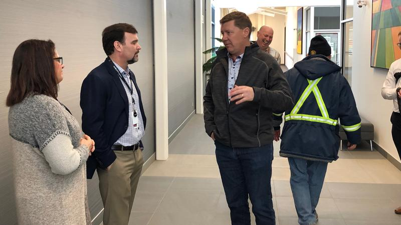 Premier Moe makes stop in Melfort, tours Wellness Centre