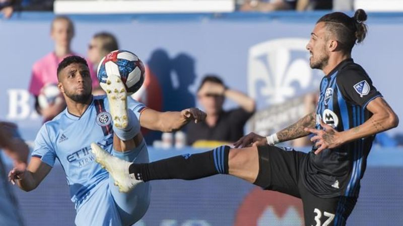 New York City FC scores early, holds on to beat Montreal Impact 2-0