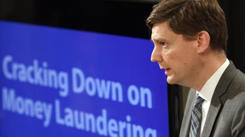 Trudeau says B.C. money laundering report is 'extremely alarming'